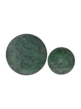 House Doctor - Bordskåner, grøn marmor