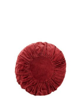 Madam Stoltz - Round Velvet Cushion