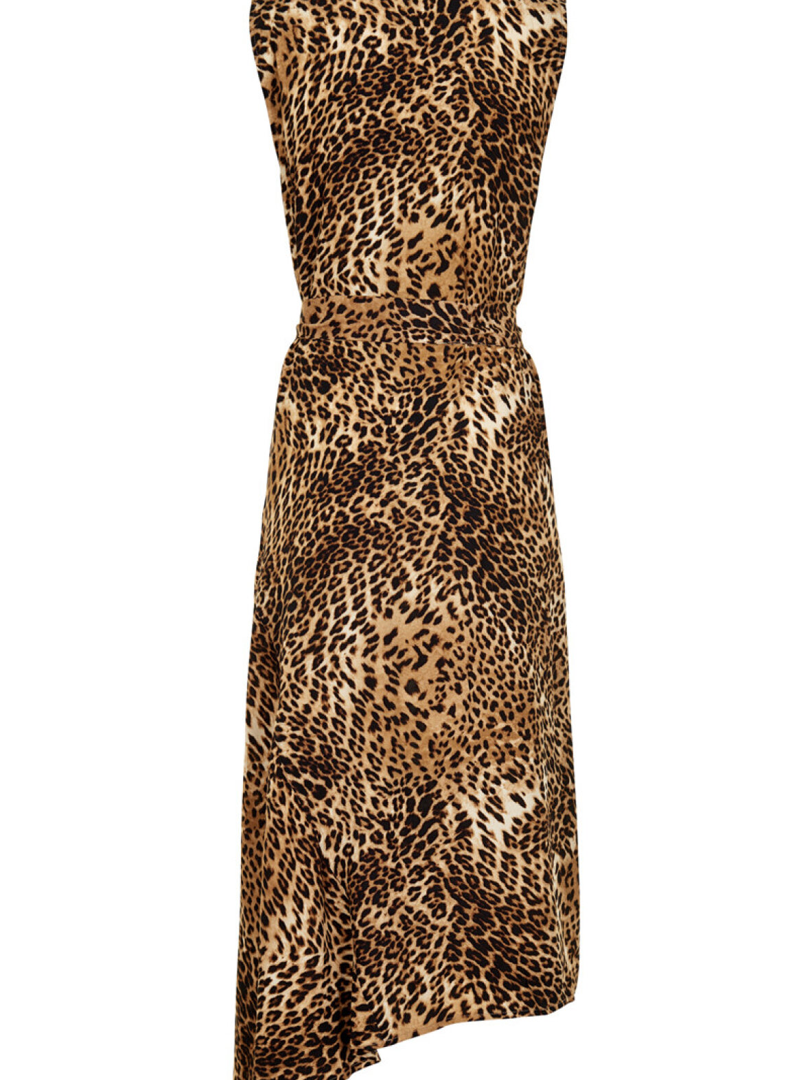 Long Christi Gestuz A'poke Leopard Dress qWP188En