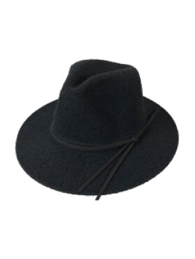 Black Colour - Tricot Summer hat