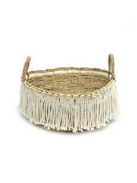 Bazar Bizar - The Boho Fringe Basket