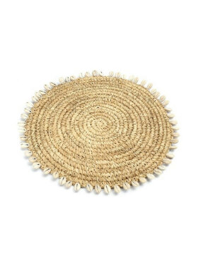 Bazar Bizar - The Raffia Shell Placement