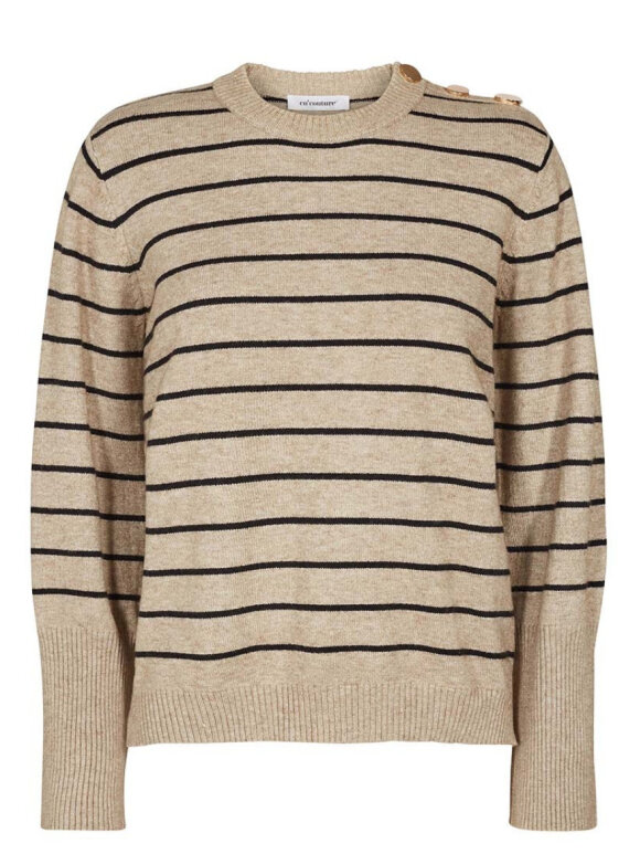 Co'Couture - Toto Stripe knit