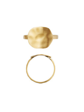 Stine A - Hammered Coin Ring