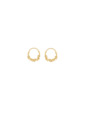 Anna + Nina - Amour Small Hoops