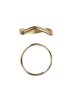 Stine A - Love Wave Ring