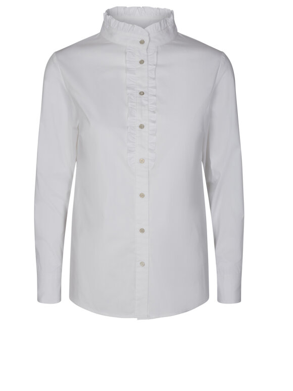 Co'Couture - Frill Poplin Shirt