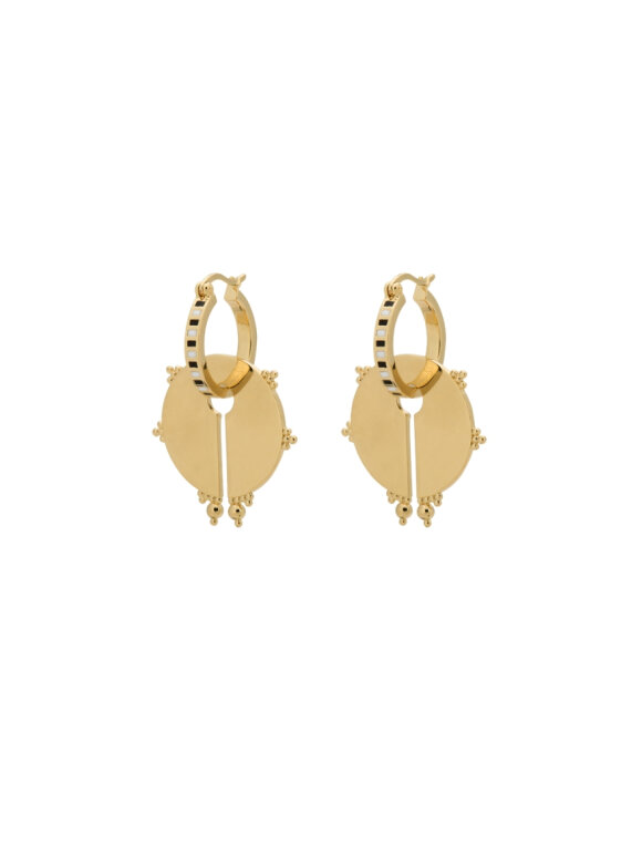 Anna + Nina - Osiris Ring Earring