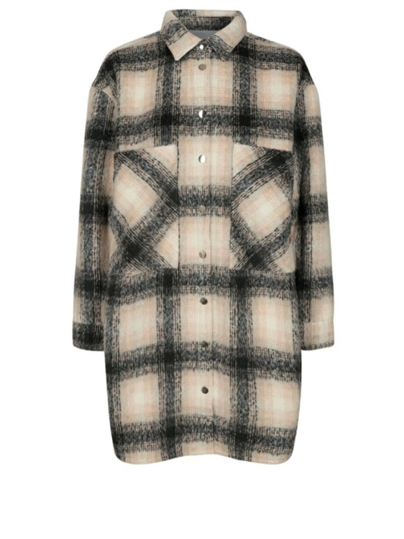 Co'Couture - Kelly Wool Check Shirt