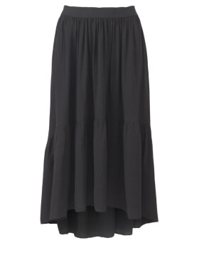 Black Colour - Heidi Midi Skirt