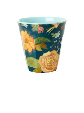 Rice - Melamine Cup Selmas Fall Flower Print