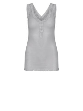 Seamless Basic - Cotton Lacey Tank Top