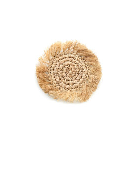 Bazar Bizar - The Fringe Raffia Coaster