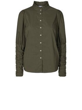 Co'Couture - Sandy Poplin Puff Shirt