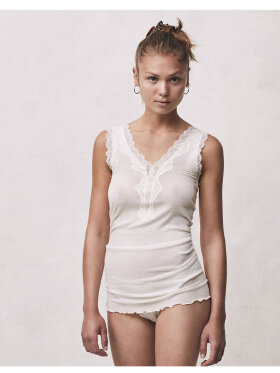 Seamless Basic - Wollen Lacey Tank Top