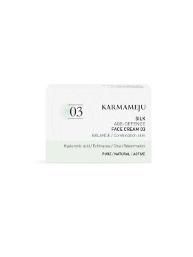 Karmameju - Face Cream 03 Silk