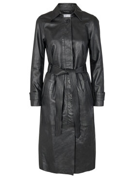 Co'Couture - Leather Trench Coat