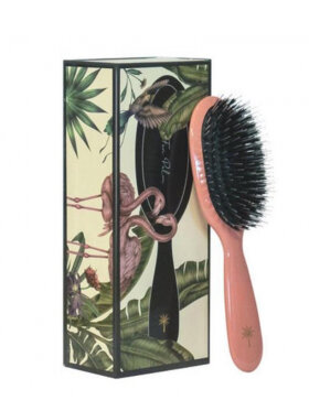 Fan Palm - Hair Brush Flamingo Small