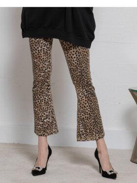 Ragdoll - Leopard Crop Leggings