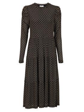 Neo Noir - Marie Graphic Mesh Dress