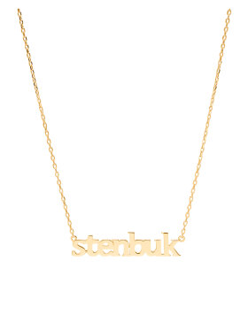 Sui Ava - Zodiac Necklace Gold