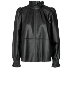 Co'Couture - Harvie Leather Blouse