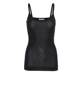 Seamless Basic - Viola Wool Strap Top