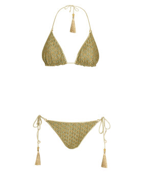 Hanne Bloch - Zig Zag Triangle Bikini