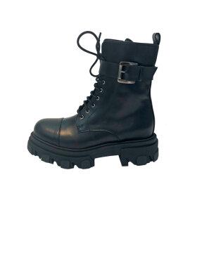 APair - Combat Buckle Boot