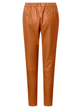 DEPECHE - Baggy Leather Pant