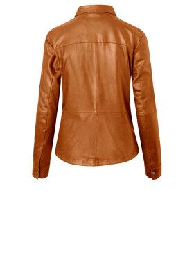 DEPECHE - Leather Shirt w/Buttons