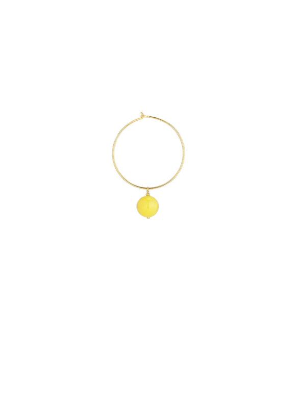 By Thiim - Pineapple Hoop Earring