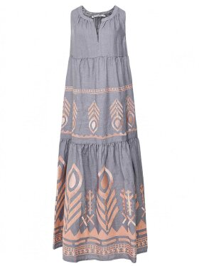 Greek Archaic Kori - Long Sleeveless Dress