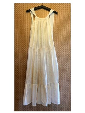 Greek Archaic Kori - Long Dress Open Back
