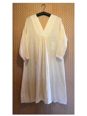 Greek Archaic Kori - Midi Long Sleeve Dress