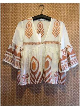 Greek Archaic Kori - Embroidery Blouse