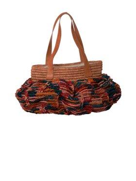 Rice - Charlotte Raffia Bag