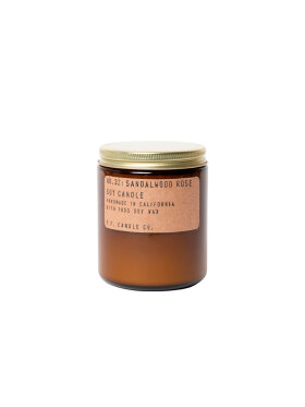 P.F. Candle Co. - NO. 32 Sandalwood Rose Soy Candle Standard