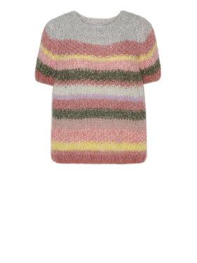 DAWN X DARE - Estelle Stripe SS Knit