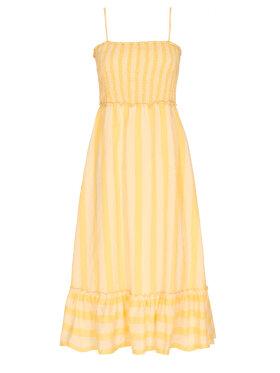 GOSSIA - Zoey Dress Yellow Stripes