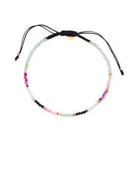 Stine A - Black Ribbon Bracelet