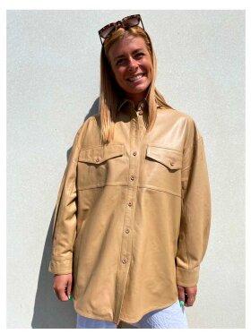Munderingskompagniet - Agnes Thin Leather Shirt