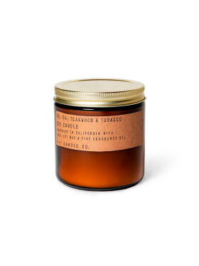 P.F. Candle Co. - NO. 04 Teakwood & Tobacco Soy Candle Large