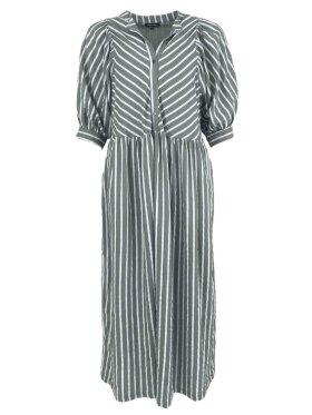 Black Colour - Nel Striped Dress