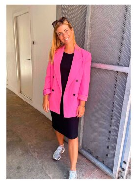 Co'Couture - Flash Oversize Blazer - Lev. midt August