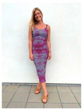 Nørgaard Paa Strøget - NPS Tie Dye Stripe Strap Dress