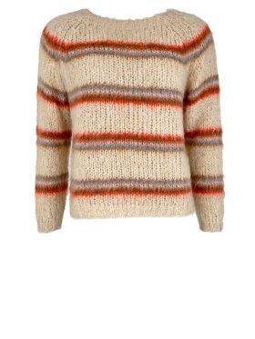Black Colour - Toni Brushed Knit Sweater