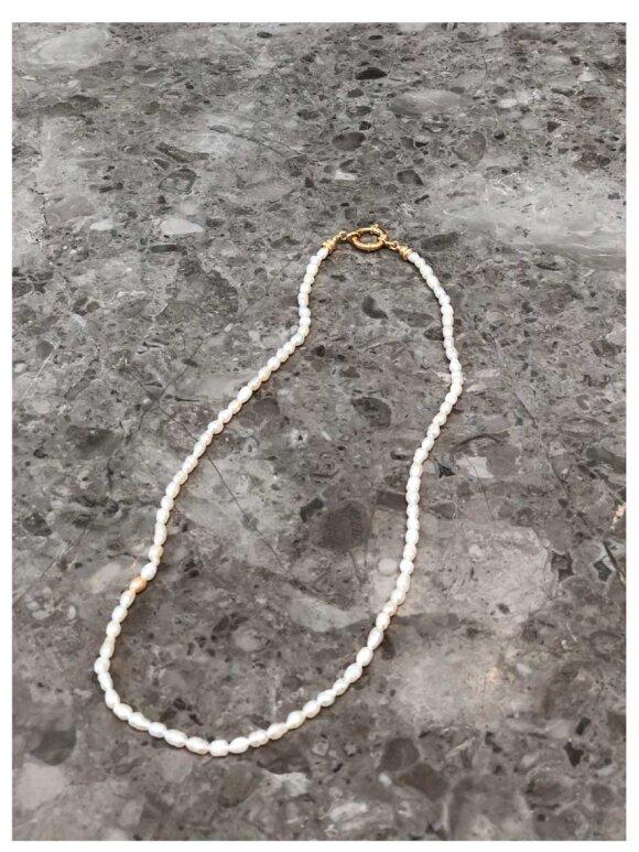 MIMI ET TOI - Doux Pearl Necklace