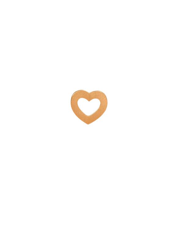 Stine A - Petit Open Love Heart Earring