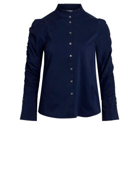 Co'Couture - Sandy Elastic Sleeve Shirt